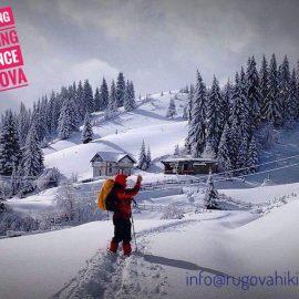 Snowshoeing Stankaj – Bogë
